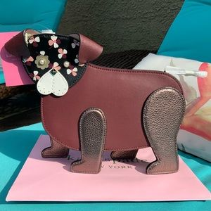 Kate Spade leather Puppy Purse